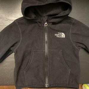 Infant North Face Black Jacket
